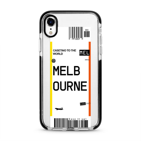 Melbourne Frequent Flyer iPhone XR Case