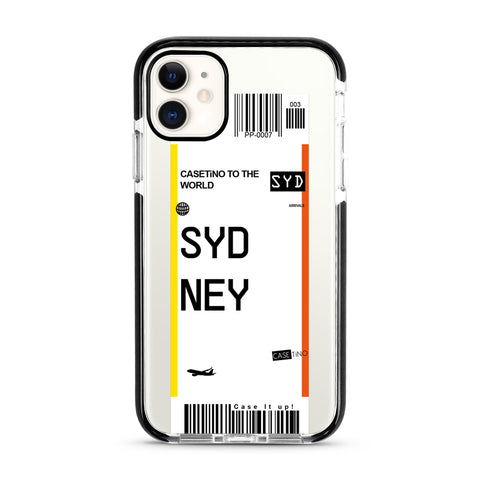 Sydney Frequent Flyer iPhone 11 Case