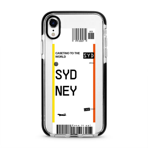 Sydney Frequent Flyer iPhone XR Case