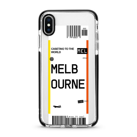 Melbourne Frequent Flyer iPhone X, XS and XS Max Case