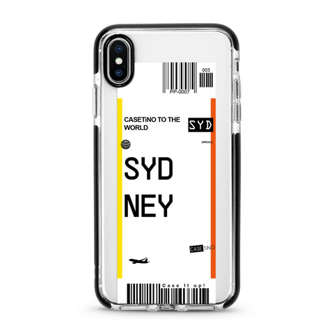 Sydney Frequent Flyer iPhone X, XS and XS Max Case