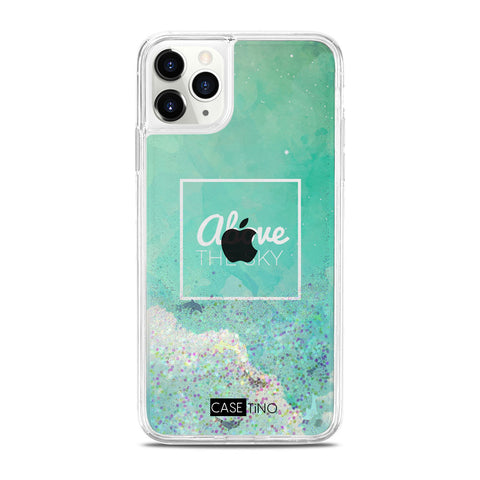 Above the sky Glitter iPhone 11 Pro Max Case