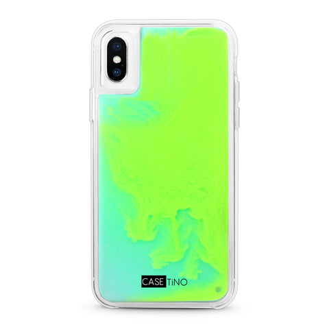 Addiction Neon Sand iPhone X, XS and XS Max Case