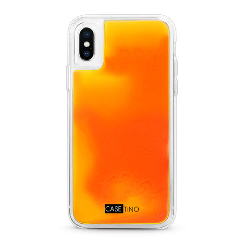 Firestorm Neon Sand iPhone X, XS and XS Max Case
