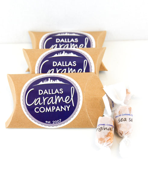 Dallas Caramel Company  Pillow Pack