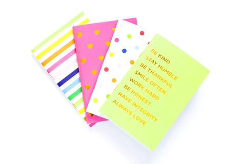 Bright Mini Notebook