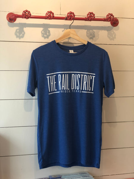 Frisco Rail District BLUE T shirt