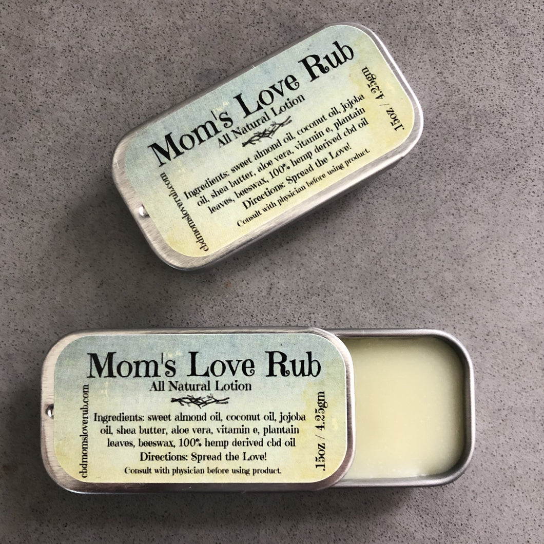 1500mg CBD Mom's Love Rub .15oz - CBD Mom's Love Rub