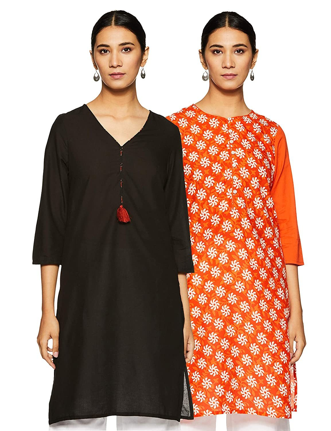 Women's Cotton Straight Kurti