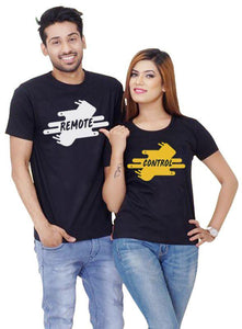 Remote Control Couple T shirt