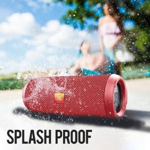 JBL Flip 3 Splashproof 16 W Portable Bluetooth Speaker  (Red, Stereo Channel)
