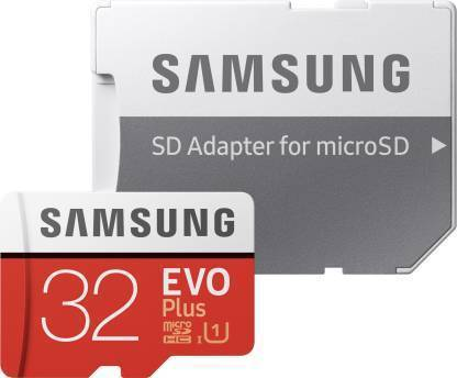 32 GB MicroSDHC Class 10 95 MB/s Memory Card  (With Adapter)