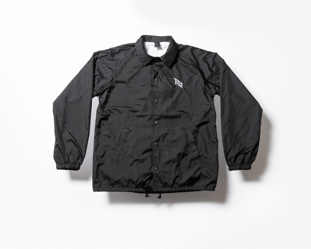 Black Coaches Jacket - Title MTB