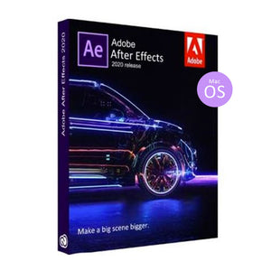 Adobe After Effects CC 2020 MacOS Full Lifetime Pre-Activated License Software
