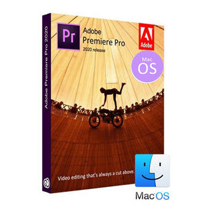 Adobe Premiere Pro CC 2020 MacOS Full Lifetime Pre-Activated License Software