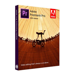 Adobe Premiere Pro CC 2020 (64 Bit) Full Lifetime Pre-Activated License Software