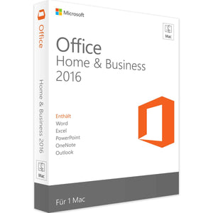 MICROSOFT OFFICE HOME AND BUSINESS 2016 MAC – INSTANT DELIVERY – ORIGINAL KEY!