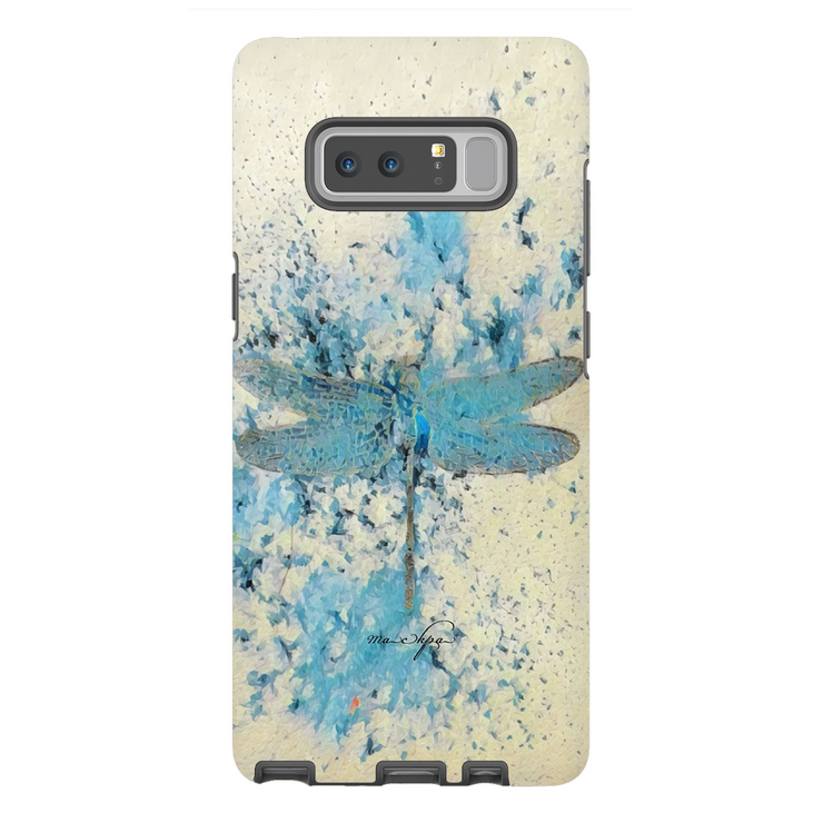 Phone Cases Dragonfly - Blue Mist