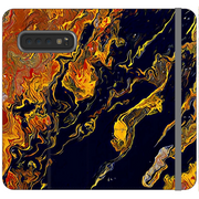 Phone Cases Wallet Topography - Black Crow of Change