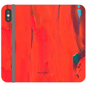 Phone Cases Wallet Abstract - Lava