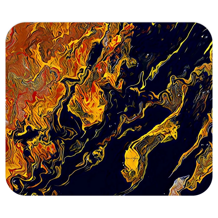Mousepads Topography - Black Crow of Change