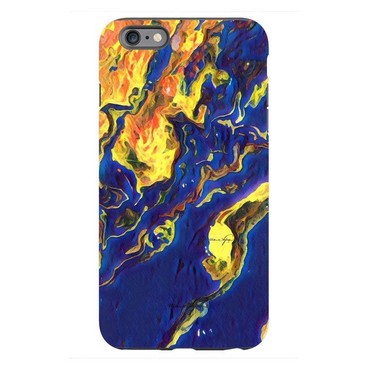 Phone Cases Topography - Reversed by the Blue Sea