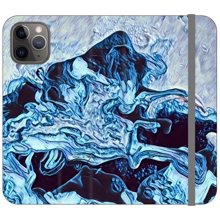 Phone Cases Wallet Ocean Waves