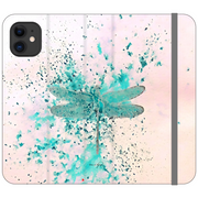 Phone Cases Wallet Dragonfly - Soft Flutter