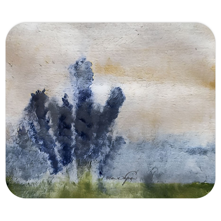 Mousepads Lupins - Blue Cool Tone