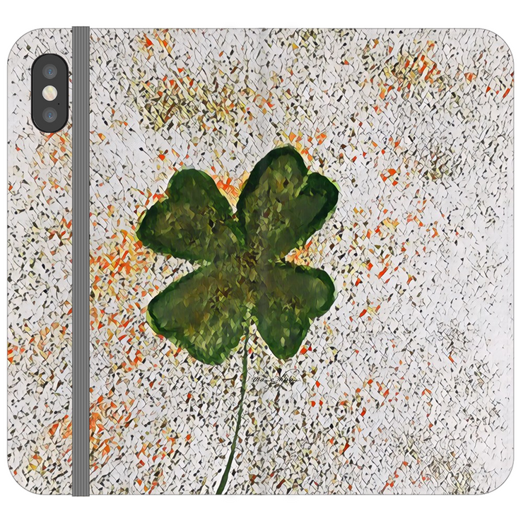 Phone Cases Wallet Almanac - For the Love of the Irish