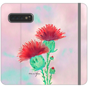 Phone Cases Wallet Thistle - Pastel