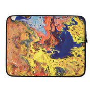 Laptop Sleeve Topography - Low Tide