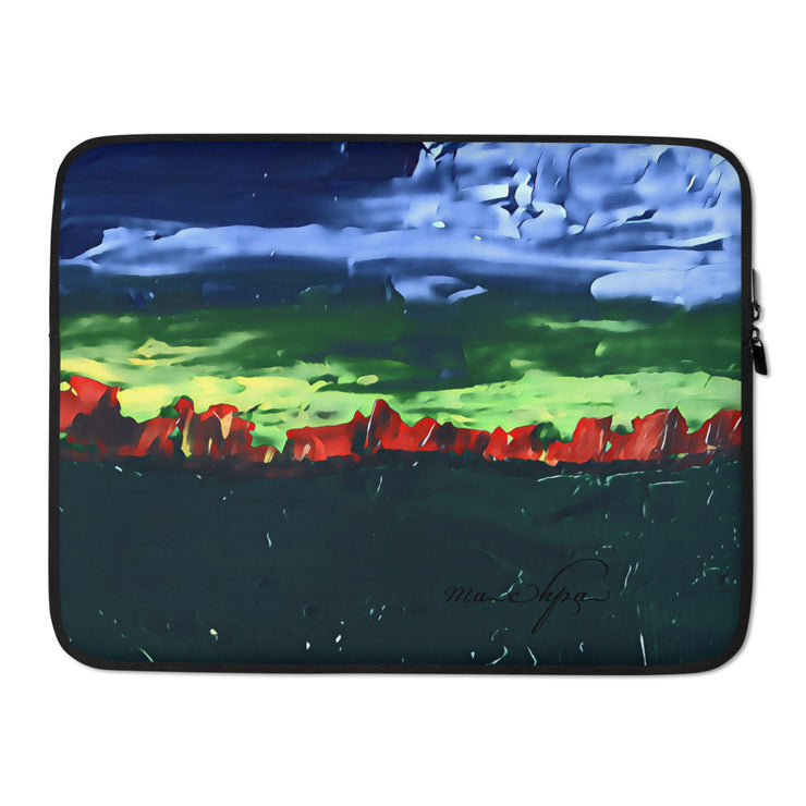 Laptop Sleeve Red Sky at Night