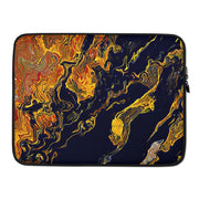 Laptop Sleeve Topography - Black Crow of Change