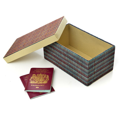 Rectangular keepsake box