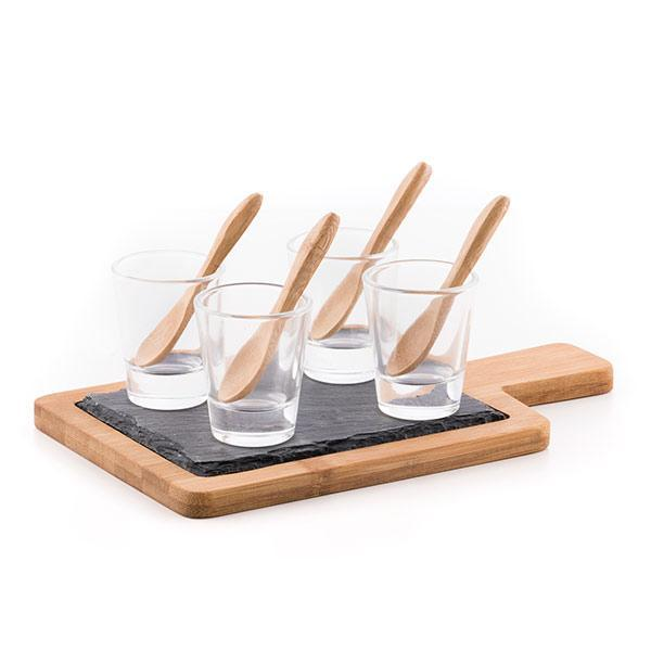Atopoir Noir | Bamboo Tasting Set (10 Pieces) - LimitedRetail® Here Today; Gone Today. Get It, Whilst It's Still Here!