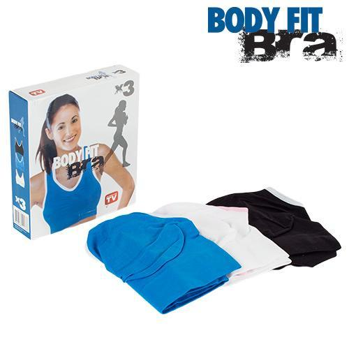 Body Fit Bra | Sports Bras (3 Pieces) - LimitedRetail® Here Today; Gone Today. Get It, Whilst It's Still Here!