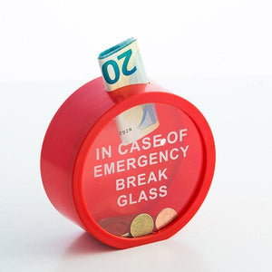 Gadget and Gifts | Emergency Money Box - LimitedRetail® Here Today; Gone Today. Get It, Whilst It's Still Here!