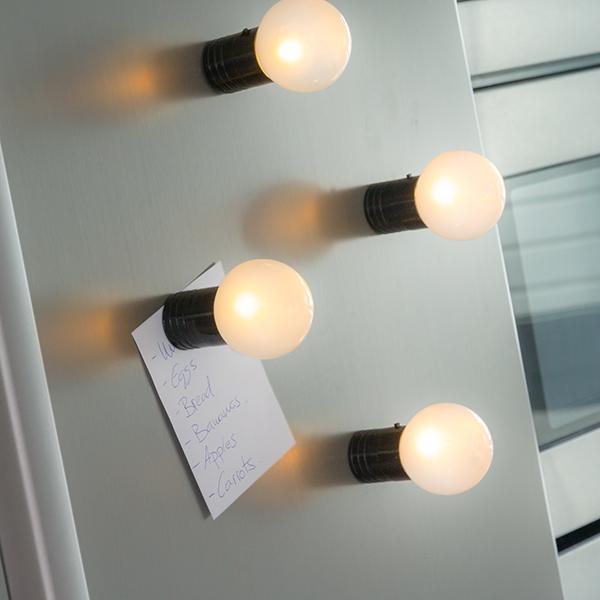 Gadget and Gifts | Led Light Bulb Fridge Magnet - LimitedRetail® Here Today; Gone Today. Get It, Whilst It's Still Here!
