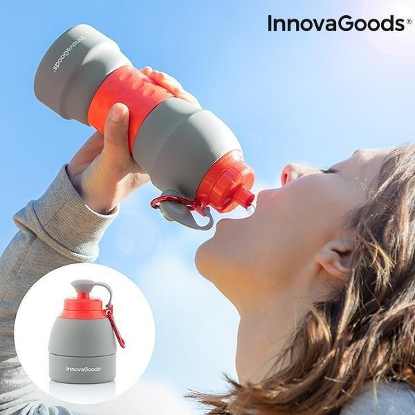Gadget Cool | Collapsible Water Bottle - LimitedRetail® Here Today; Gone Today. Get It, Whilst It's Still Here!