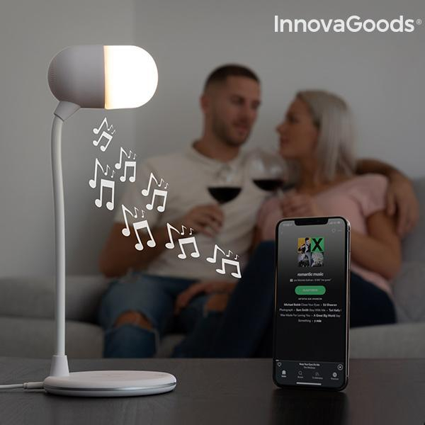 Gadget Tech | Akalamp Led Lamp With Speaker and Wireless Charger - LimitedRetail® Here Today; Gone Today. Get It, Whilst It's Still Here!