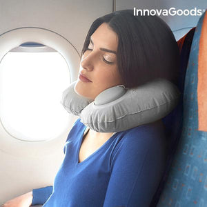 Gadget Travel | Auto-Inflatable Neck Cushion - LimitedRetail® Here Today; Gone Today. Get It, Whilst It's Still Here!