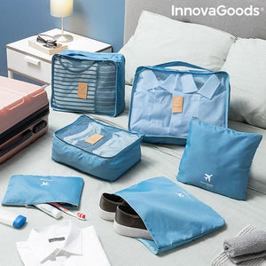Gadget Travel | Luggan Suitcase Organiser Bag Set (6 Pieces) - LimitedRetail® Here Today; Gone Today. Get It, Whilst It's Still Here!