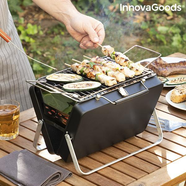Home Garden | Handy·Q Portable, Folding Charcoal Barbeque - LimitedRetail® Here Today; Gone Today. Get It, Whilst It's Still Here!