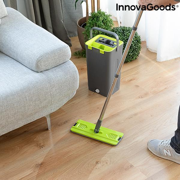 Home Houseware | Swiftmop Mop With Dual Action Bucket - LimitedRetail® Here Today; Gone Today. Get It, Whilst It's Still Here!