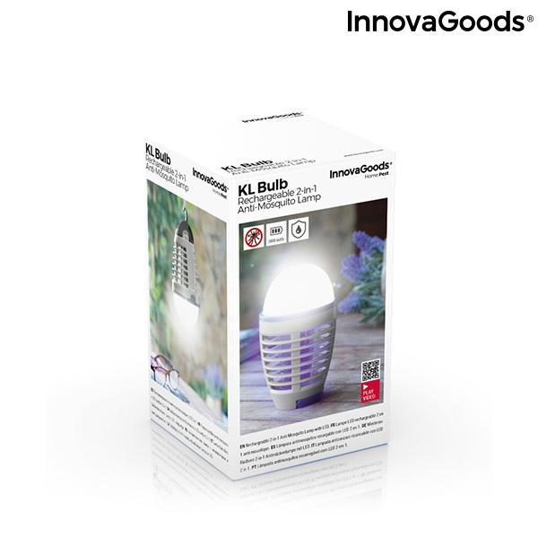 Home Pest | Kl Bulb Rechargeable 2-In-1 Anti Mosquito Repellent Lamp With Led - LimitedRetail® Here Today; Gone Today. Get It, Whilst It's Still Here!