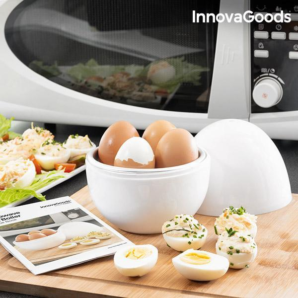 Kitchen Foodies | Boilegg Microwave Egg Boiler with Recipe Booklet - LimitedRetail® Here Today; Gone Today. Get It, Whilst It's Still Here!
