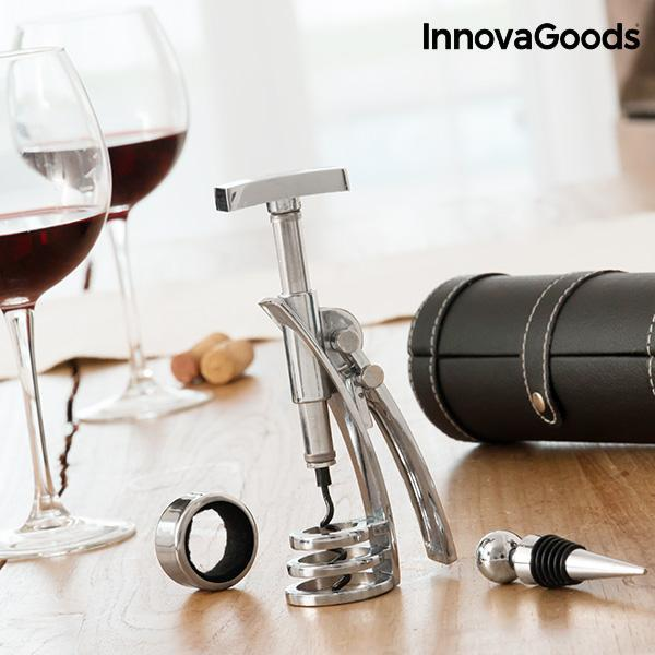 Kitchen Sommelier | Screwpull Wine Set (4 Pieces) - LimitedRetail® Here Today; Gone Today. Get It, Whilst It's Still Here!