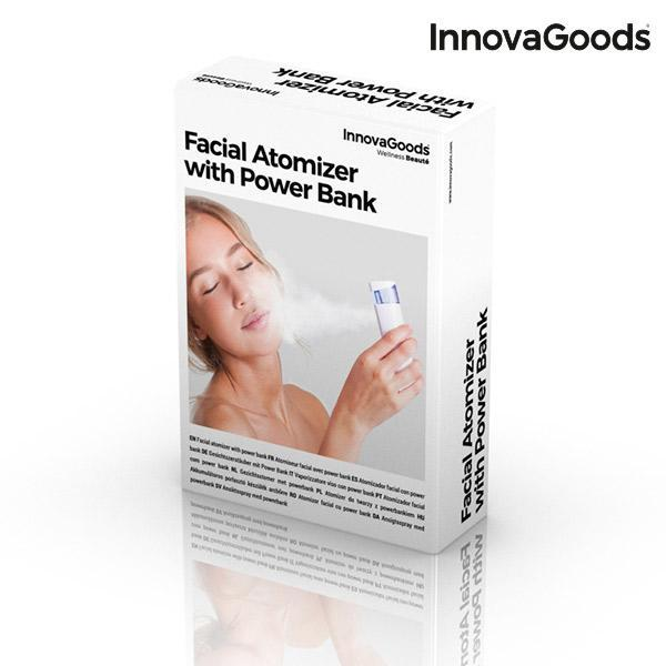 Wellness Beauté | Facial Atomizer with Power Bank - LimitedRetail® Here Today; Gone Today. Get It, Whilst It's Still Here!
