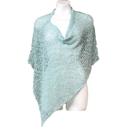 Ladieswear - Poncho - Soft Mint